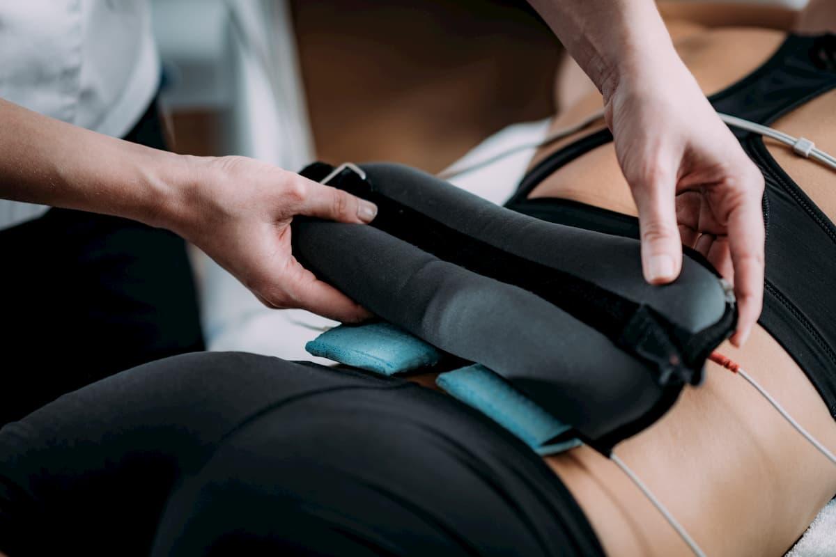 stimulation électrique douleur dos