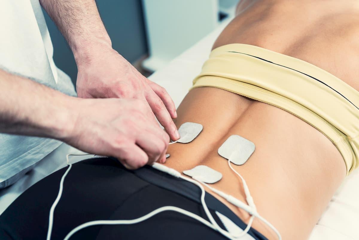 électrostimulation contre les douleurs du dos